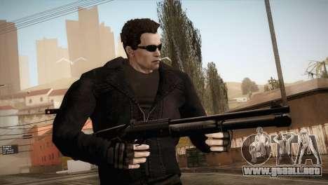 Arnold T-850 Skin para GTA San Andreas