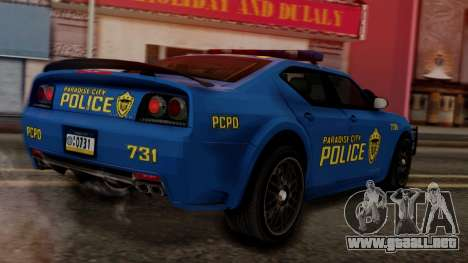 Hunter Citizen v2 IVF para GTA San Andreas left
