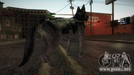 COD Ghosts - Riley Skin para GTA San Andreas tercera pantalla