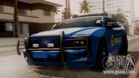 Hunter Citizen SAPD IVF para GTA San Andreas