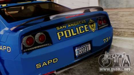 Hunter Citizen from Burnout Paradise SAPD para visión interna GTA San Andreas