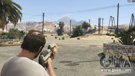 GTA 5 Halo UNSC: Assault Rifle cuarto captura de pantalla