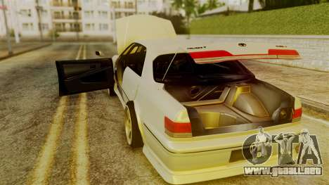 Toyota Mark 2 100 para visión interna GTA San Andreas