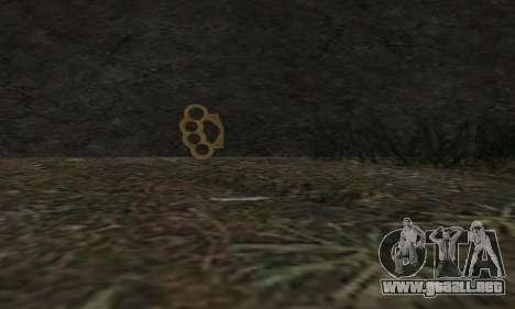 Knuckledusters from GTA 5 para GTA San Andreas