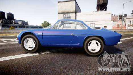 Renault Alpine A110 1973 para GTA 4 left