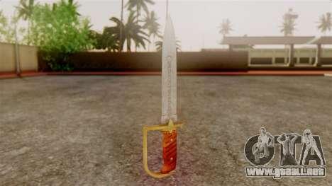GTA 5 Antique Cavalry Dagger v1 para GTA San Andreas