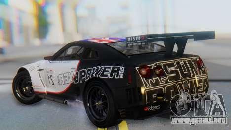 Nissan GT-R GT1 Sumo para GTA San Andreas left