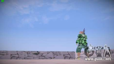 Huf Man para GTA San Andreas quinta pantalla