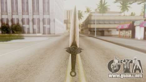 Dragon Dagger para GTA San Andreas