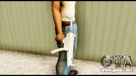 MP5 con de stock para GTA San Andreas tercera pantalla