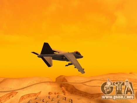 T.0 Secret Enb para GTA San Andreas sucesivamente de pantalla