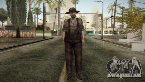 RE4 Don Diego para GTA San Andreas segunda pantalla