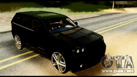 Jeep Grand Cherokee SRT8 Restyling M Final para la visión correcta GTA San Andreas