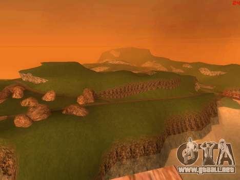 Verde del desierto de Las Venturas v2.0 para GTA San Andreas sucesivamente de pantalla