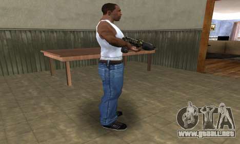 War Combat Shotgun para GTA San Andreas segunda pantalla