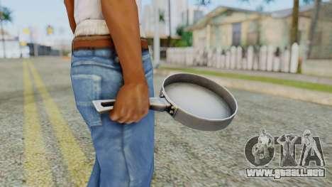Frying Pan from Silent Hill Downpour para GTA San Andreas tercera pantalla