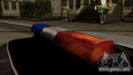 Police Elegy para la visión correcta GTA San Andreas