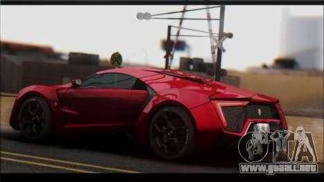 KISEKI V2 [0.076 Version] para GTA San Andreas sucesivamente de pantalla