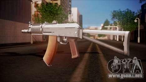 AKC-47У de Battlefield Hardline para GTA San Andreas segunda pantalla