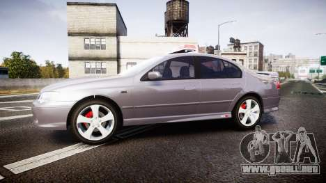 Ford Falcon XR8 Unmarked Police [ELS] para GTA 4 left