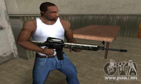 Military M4 para GTA San Andreas segunda pantalla