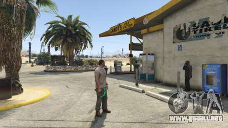 GTA 5 Diamond Pickaxe V v1.0 tercera captura de pantalla