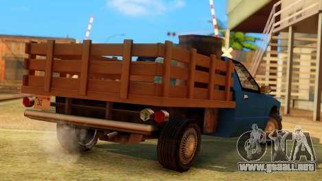 Premier Country Pickup para GTA San Andreas left