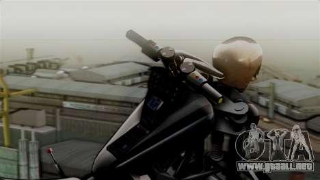 Hexer Moto Jet para GTA San Andreas vista posterior izquierda