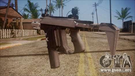 K10 from Battlefield Hardline para GTA San Andreas segunda pantalla