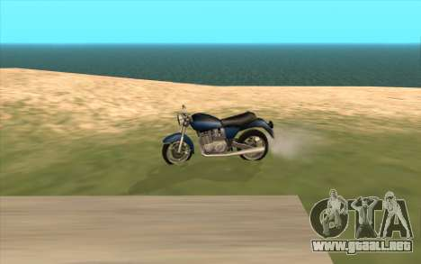 VPH-1000 Civil para vista lateral GTA San Andreas