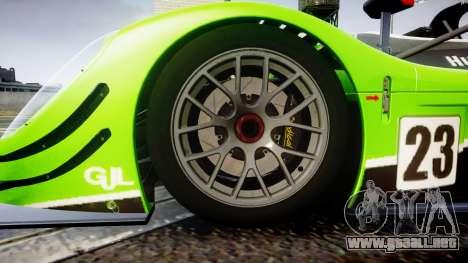 Radical SR8 RX 2011 [23] para GTA 4 vista hacia atrás