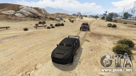 GTA 5 Car Companion V (Driverless car) 1.2.1 cuarto captura de pantalla