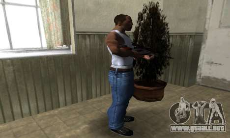 Red Flag Sniper Rifle para GTA San Andreas tercera pantalla