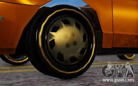 Ford Crown Victoria Taxi para GTA San Andreas vista posterior izquierda
