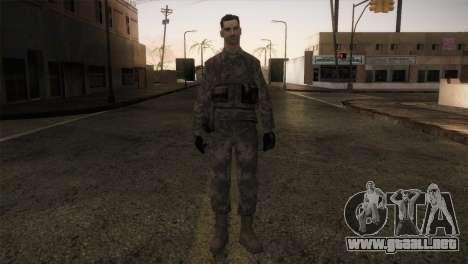 Army MARPAT para GTA San Andreas segunda pantalla
