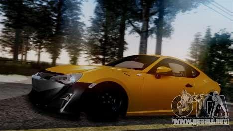 Toyota GT86 PJ para GTA San Andreas