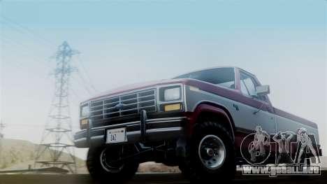 Ford F-150 Ranger 1984 para GTA San Andreas