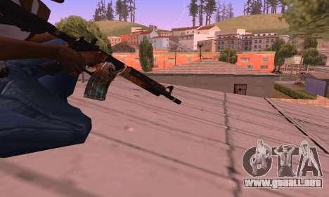 M4 Grifin para GTA San Andreas tercera pantalla