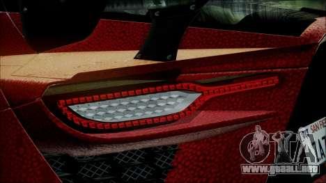 Bertone Mantide 2010 para visión interna GTA San Andreas