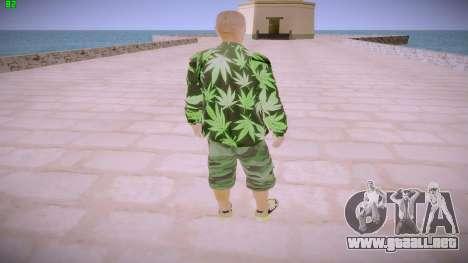 Huf Man para GTA San Andreas tercera pantalla