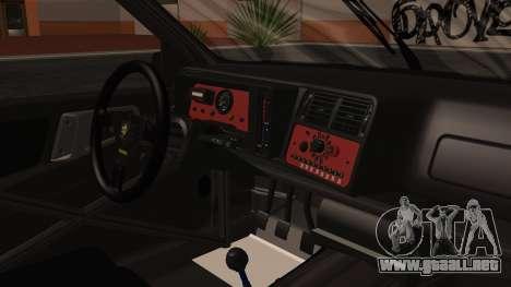 Ford Sierra RS500A para la visión correcta GTA San Andreas