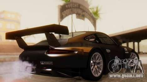 Porsche 911 RSR para GTA San Andreas left