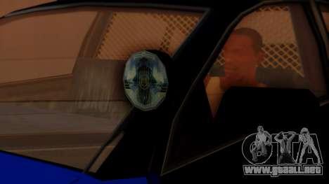 Police HSV VT GTS SA Style para la visión correcta GTA San Andreas