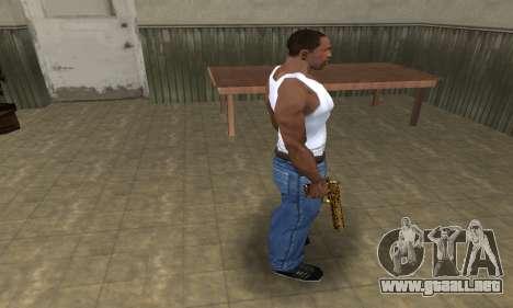 Microshem Deagle para GTA San Andreas tercera pantalla