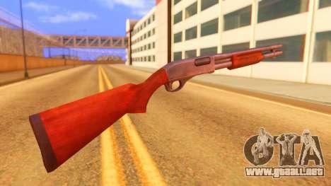 Atmosphere Shotgun para GTA San Andreas segunda pantalla
