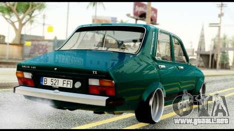 Dacia 1310 Carrera para GTA San Andreas vista posterior izquierda