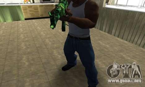 Ganja АК-47 para GTA San Andreas segunda pantalla