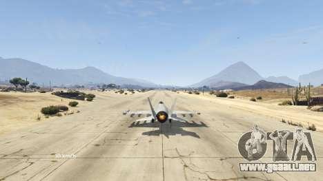 GTA 5 Flight Speedometer V 2.0 cuarto captura de pantalla
