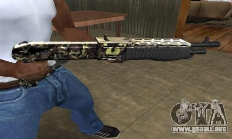 War Combat Shotgun para GTA San Andreas tercera pantalla