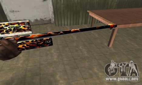 Leopard Sniper Rifle para GTA San Andreas segunda pantalla
